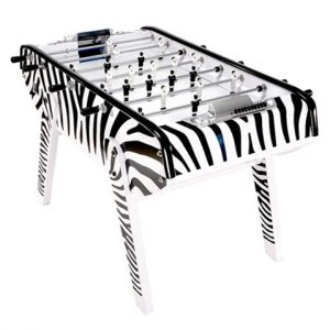 babyfoot table, b90 zebra, bonzini