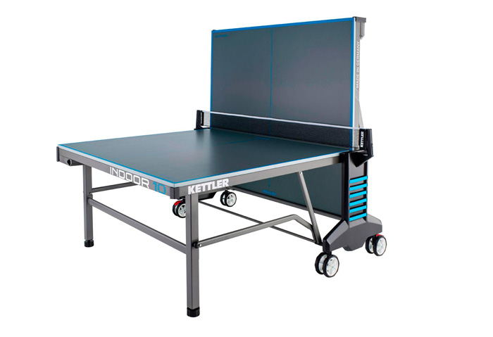 Kettler indoor 10 table tennis table the men 39 s cave for Table kettler