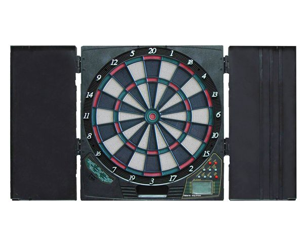Polaris Soft Tip Dart Board With Cabinetry