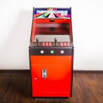Mini Arcade Machine In Neo Geo Colours