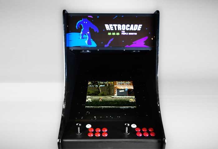 retrocade pro upright arcade machine front view