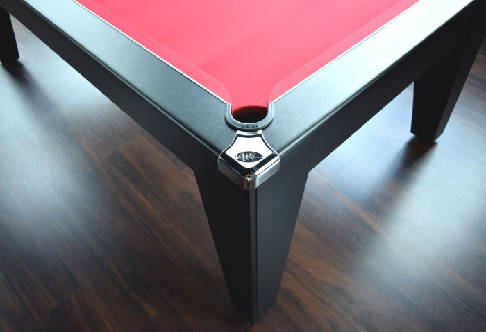 Pool dining table avant garde 6 7ft the men 39 s cave - Pool dining ...