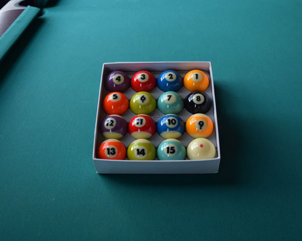 Complete Set Of Pool Balls