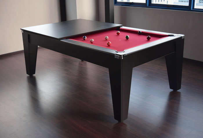 pool dining table with cover, avant garde
