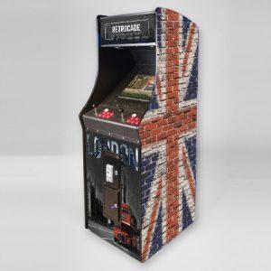 Arcade Machine In Great Bricktain Theme