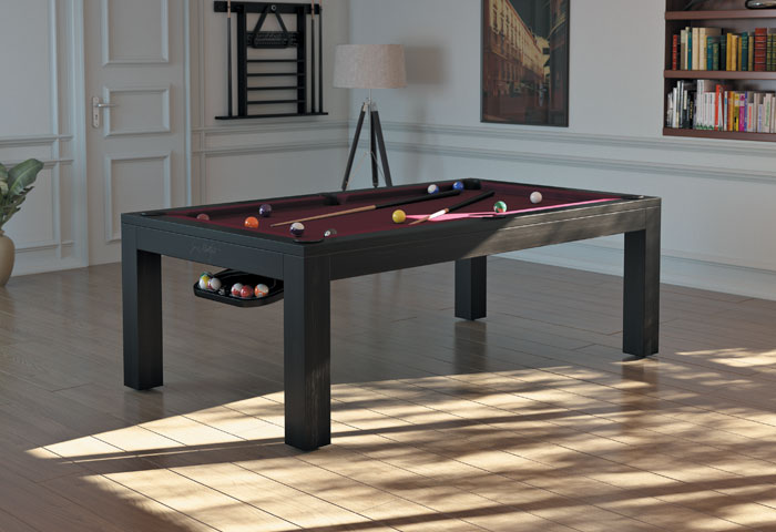 montfort lewis 7 8ft pool dining table the men 39 s cave. Black Bedroom Furniture Sets. Home Design Ideas