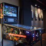 Virtual Pinball Machine Side View