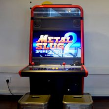 Vewlix Arcade Machine Front View