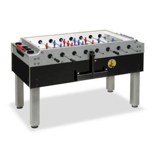 Fully Assembled Garlando Olympic Silver Foosball Table
