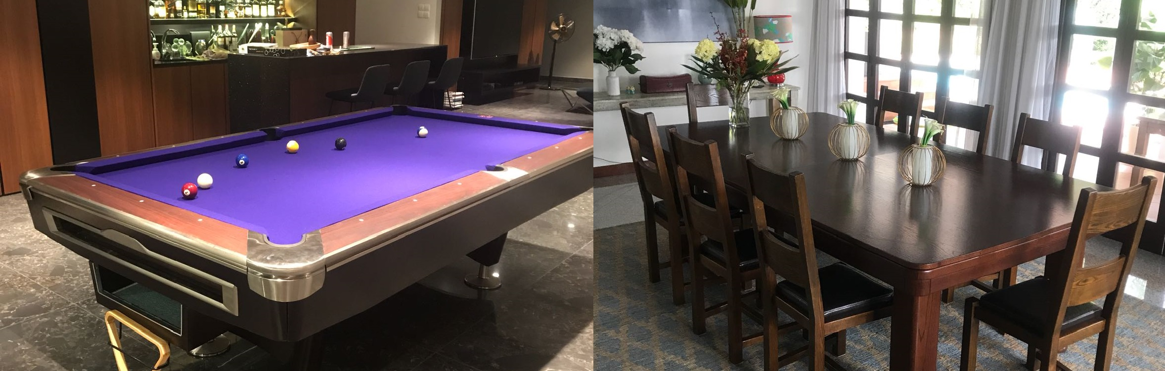 Pool Table / Dining Pool Table