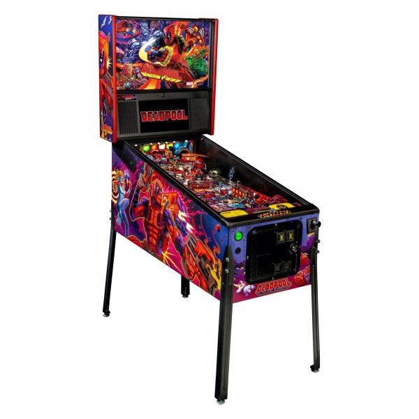 Stern Deadpool Pinball Machines in Singapore
