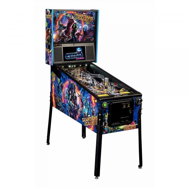 Stern Guardian of the Galaxy Pinball Machine Playfield